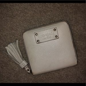 Kate Spade Leather Wallet with Tassel